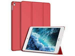 jetech case for apple ipad pro 9.7 inch, smart cover auto wake/sleep, red
