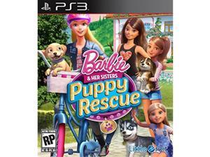 barbie and her sisters: puppy rescue ps3  playstation 3
