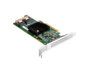 SilverStone Technology Server-grade Host Bus Adapter 9217-8i expansion card with dual Mini-SAS SFF-8087 (ECS04)