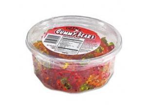 Office Snax Gummy Bears, Assorted Flavors, 2 Lb Tub