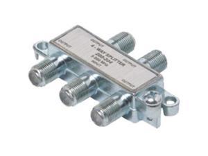 Steren 200-204 Mini 5-900MHz Coax Splitter - 4-Way