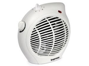 impress im701 1500watt compact fan heater with adjustable thermostat