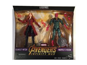 hasbro marvel legends toys r us exclusive avengers infinity war 2pack vision and scarlet witch