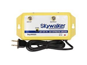 skywalker signature series sky38323 25db amplifier vhf/uhf/fm w/variable gain sky38323