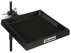 gibraltar djgemat foldup 12x12 accessory table with attach clamp