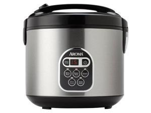 aroma digital rice cooker  stainless steel 20 cups arc1030sb