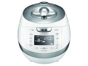 cuckoo crpbhss0609f pressure rice cooker 14.7 x 10.6 x 10 inches white