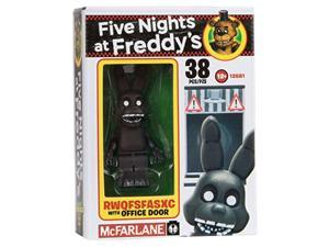 mcfarlane toys five nights at freddy's office door construction building kit