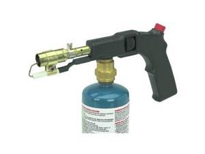 electric start propane torch with pushbutton electric starter