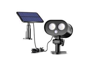 solar motion sensor lights outdoor,sunix solar power security motion sensor lights with splittype panel wide lighting area for garden,porch,yard etc.