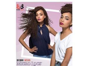 """bobbi boss synthetic hair crochet braids african roots braid collection micro locs 18"""" 6  pack, m1b/27"""
