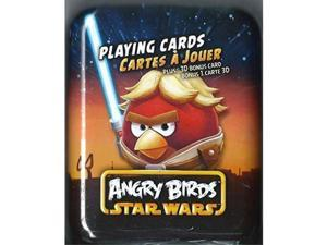 angry birds star wars playing cards in metal tin one random tin supplied by angry birds star wars playing card tin styles may