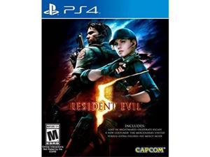 resident evil 5  standard edition  playstation 4