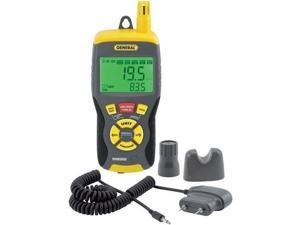 general tools rhmg650 9in1 thermohygrometer with pin/pinless moisture meter