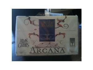 arcana box 60 booster packs for 'on the edge' card game