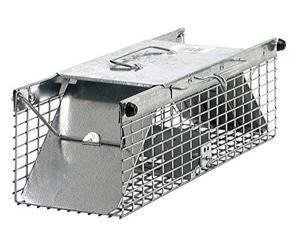Havahart Galvanized Steel 18 In. 2-Door Large Animal Trap 1025