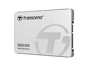 """Transcend 240 GB TLC SATA III 6Gb/s 2.5"""" Solid State Drive (TS240GSSD220S)"""