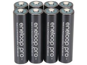 Panasonic Bk-4hcca8ba Eneloop- r Xx Batteries - aaa; 8 Pk