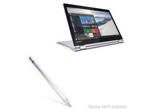 Lenovo Yoga 710 (11 in) Stylus Pen, BoxWave [AccuPoint Active Stylus] Electronic Stylus with Ultra Fine Tip for Lenovo Yoga 710 (11 in) - Metallic Silver