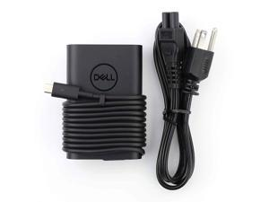 New Dell Laptop Charger 65W(Watt) AC Power Adapter With Type c(USB-C/USBC) Tip Include Power Cord For XPS 12, 9250 XPS 13 9350 9360 9365 9370 9380, Latitude 7370 7280 7480 5480 7275 5290 7490