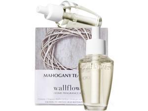 Bath & Body Works Mahogany Teakwood Wallflowers Home Fragrance Refills, 2-Pack (1.6 fl oz total)