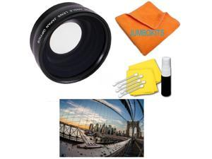 + Nwv Direct Microfiber Cleaning Cloth. Flower Design 58mm Nikon D60 Pro Digital Lens Hood