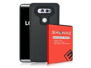 High Capacity 8500mAh Extended battery &TPU Case For LG V20 LS997 Sprint