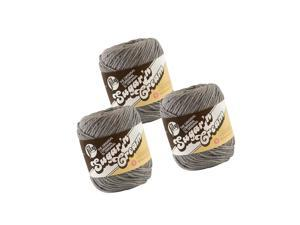 Lily Sugarn Cream Solids 100% Cotton Yarn Overcast Pack of 3