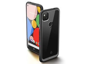 SUPCASE Unicorn Beetle Style Series Case Designed for Google Pixel 4A (2020 Release), Premium Hybrid Protective Case (Black)