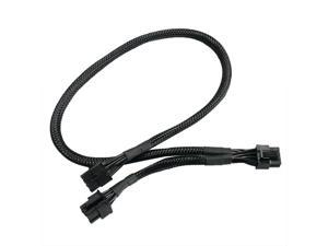 8PIN TO DUAL 8pin PCIe VGA Power Cable for Seasonic Focus Plus 750 850 GOLD USA