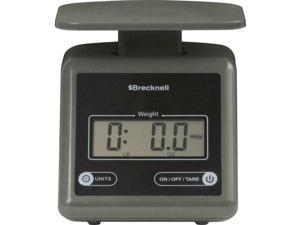 Brecknell Electronic 7lb Postal Scale - 7.24 lb / 3.29 kg Maximum Weight...