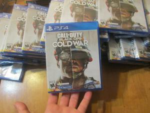 Call of Duty Black Ops: Cold War PS4 PLAYSTATION 4 SONY  NEW FACTORY SEALED
