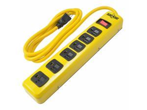 Southwire 5139N 6 Outlet Metal Power Strip, 6 cord