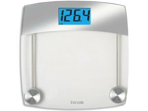 Taylor 75244192 Digital Bathroom Scale, Gray