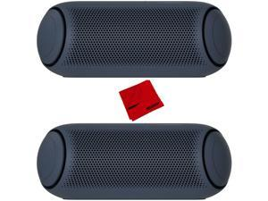 LG XBOOM Go PL7 Portable Bluetooth Speaker with Meridian Sound Technology 2 Pack
