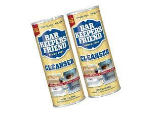 Bar Keepers Friend Powdered Cleanser 21-Ounces (2-Pack) 21 Ounce (Pack of 2)