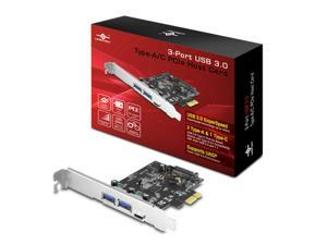 Vantec Thermal Technologies UGT-PC331AC Controller Card 3Port USB 3.0 Type-A/C