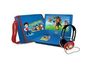 "Ematic NPW7221PW: Nickelodeon Paw Patrol Portable DVD Player 9"" Swivel - Blue"