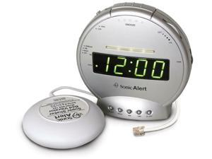 Sonic Bomb Alarm clock with phone Sig and Vib SBT425SS