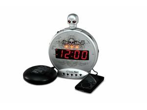Sonic Bomb THE SKULL mp3/i-Pod Alarm w/Shaker SBS550BC