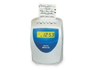 AMANO Amano Mrx35 Time Clock Recorder System MRX-35/A140 Clock System NEW