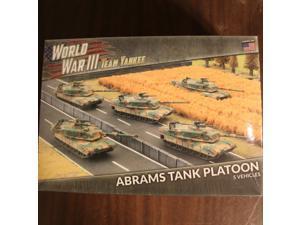 Team Yankee  Abrams Tank Platoon New in Box