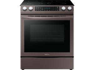 Samsung NE58R9431ST 30 Inch Slide-in Electric Range with 5 Element Flexible Cook