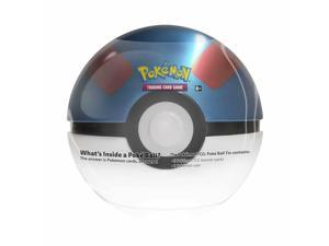 Pokemon TCG: Great Ball Tin - 3 Booster Pack with 1 Coin