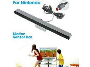 For Nintendo Wii / Wii U Wired Remote Motion Sensor Bar Ir Infrared Ray Inductor