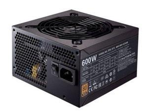 CoolerMaster Power Supply MWE BRONZE 600W Power Supply ATX 12V APFC SATA PCI
