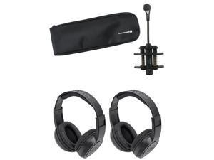 Beyerdynamic TG-D57C High SPL Clip-On Drum/Instrument Mic+Gooseneck+Headphones