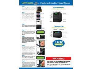 Copystars Duplicator 1-1 Liteon DVD burner DVD+- RW SATA CD DVD Copy tower w/LCD