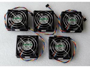 LOT OF 2 K650T Dell OptiPlex OEM 7010 USFF 4pin 9010 9020 780 790 990 Fan