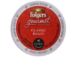 Folgers Gourmet Selections Coffee Classic Roast K-Cup Packs, 12-Count (Pack of 6